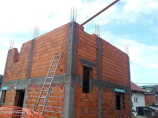 gradnja objektov