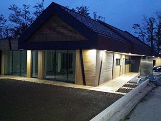 lesene skeletne hiše